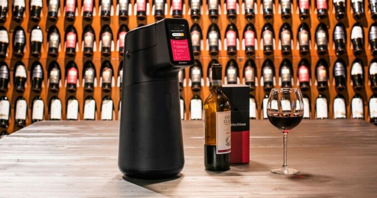 Inteligenty dozownik wina