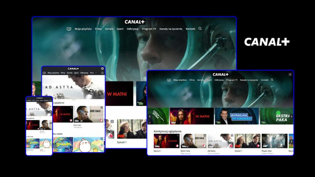 Canal+ debiutuje w internecie