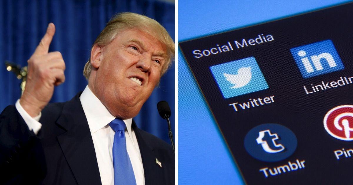Donald Trump o mediach społecznościowych
