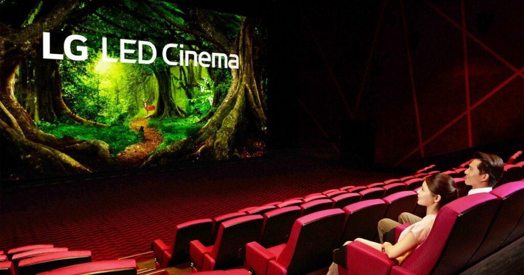 Kino z ekranem LG Cinema
