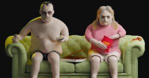 Wygląd osób uzależnionych od Netflixa