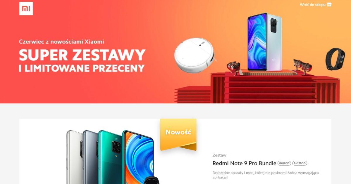 Wyprzedaż w sklepach Xiaomi