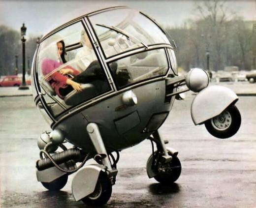 Najdziwniejsze pojazdy w historii ludzkości