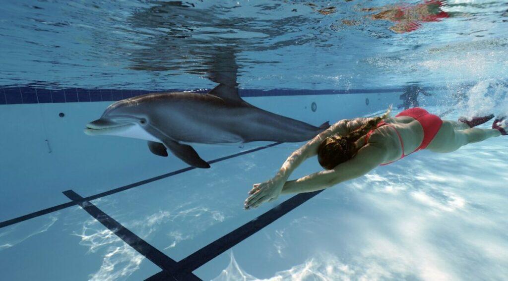 Hiperrealistyczny robo-delfin