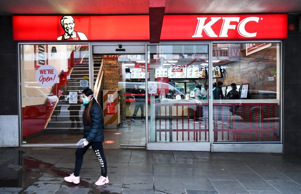 KFC drukuje kurczaki