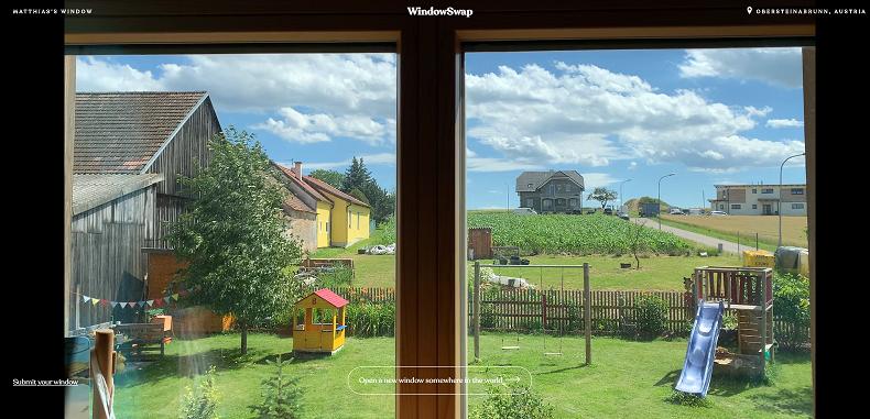 Podgląd okien z całego świata