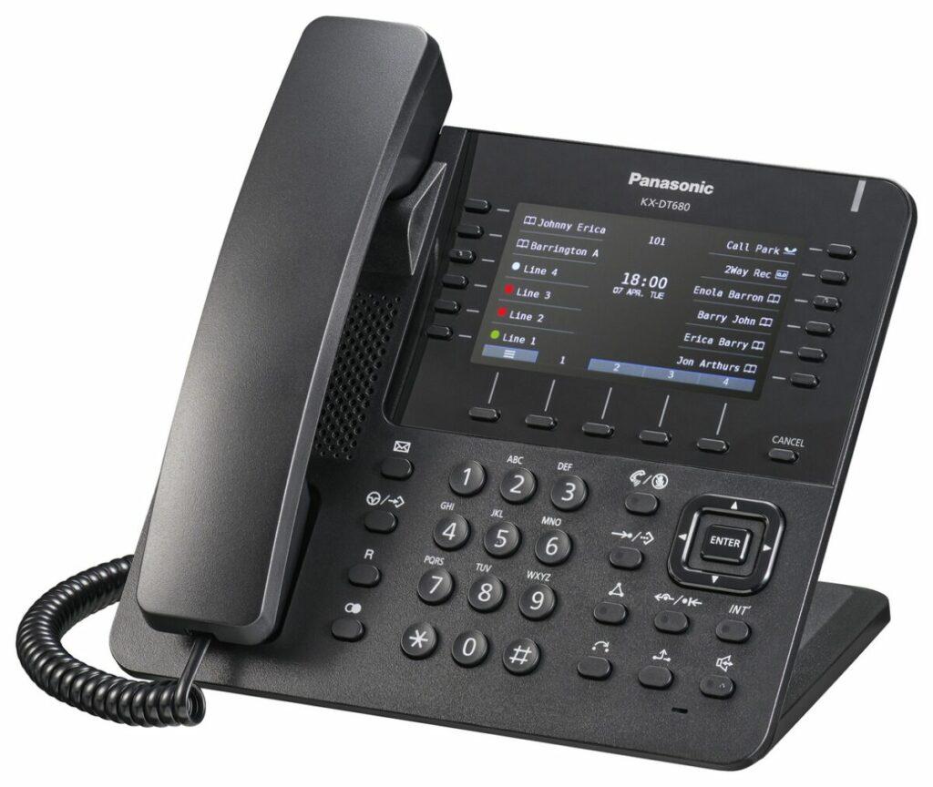 cyfrowe telefony biurowe od Panasonic