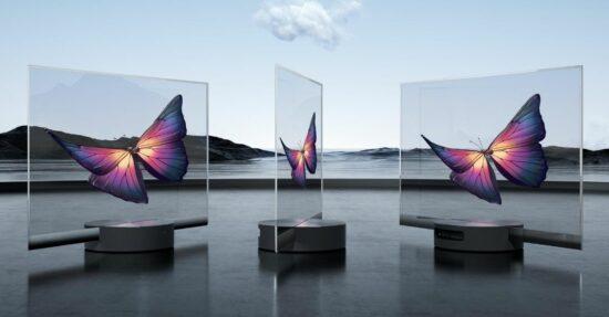 Xiaomi prezentuje przezroczysty telewizor