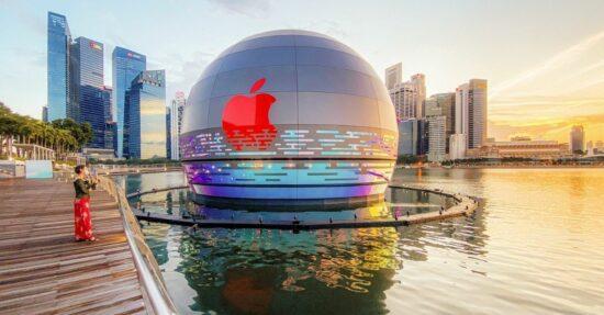 Pływający sklep Apple
