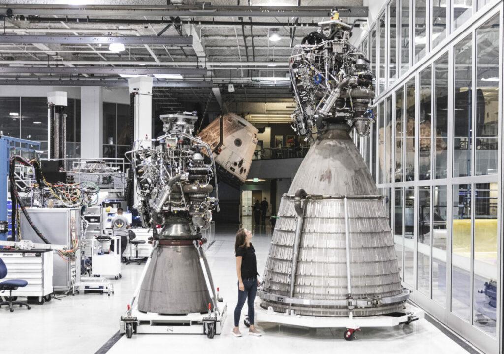 SpaceX testuje silnik Raptor